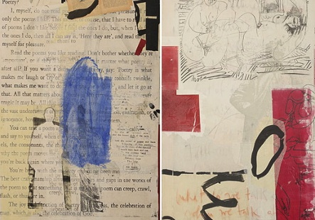 What do we talk about when we talk about art, diptych