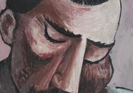 Tête d' Homme I  1989 (04.12.15)