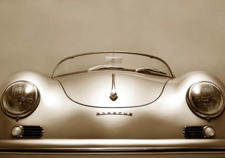 Porsche 356 , 1958 (Headlights)