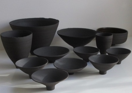 Open footed bowls