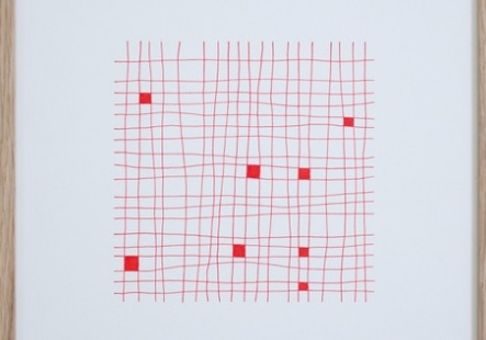 RED GRID *1 - 8 / 400