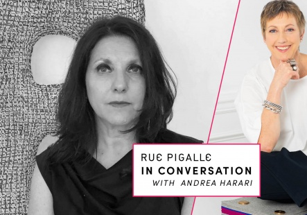 Andrea Harari in Conversation with Isabelle Fish from Rue Pigalle