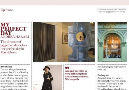 Andrea Harari in Marylebone Journal