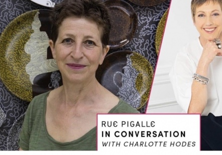 Charlotte Hodes in Conversation with Rue Pigalle