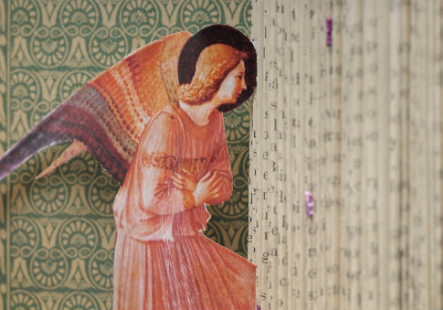 Monica Fierro's artwork 'The Annunciation' wins the XLII Salón de Arte Sacro de Tandil, Argentina