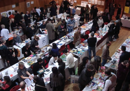 Patricia Swannell is exhibiting an artists book at the Small Publishers Fair, Conway Hall, London
