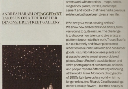 Profile of jaggedart in The Marylebourne Journal