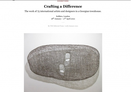 The Design Edit - On Crafting a Difference