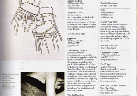 The Intimation of Presence featured in the Marylebone Journal