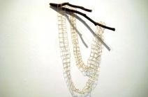 Grass necklace by Kazuhito Takadoi