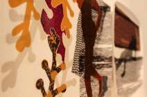 Charlotte Hodes - Dressed in Pattern - at jaggedart and Circus