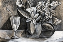 Ricardo Cinalli | Les Fleurs du Mal IV | £ 500
