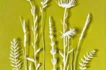 Rachel Shaw Ashton | Green | Yarrow, grossort, mustard garlic, daisy | £ 390
