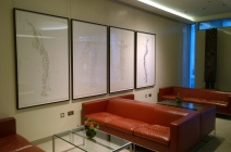 Rachel Shaw Ashton's works in private office in London
