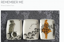 Charlotte Hodes Solo Exhibition 'Remember Me' featured at Sublime Magazine