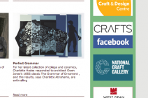 Charlotte Hodes - The Grammar of Ornament in Crafts Magazine