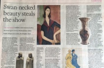 "Charlotte Hodes vase in FT article ""Collecting"""