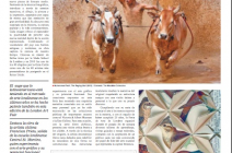 Francisca Prieto's art work Between Folds / British Birds is featured in EL IBÉRICO GUIDE