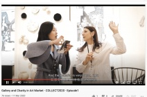 Isabella Liu from London Design Academy has interviewed jaggedart and artists at Collect 2020