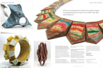 Jeremy May's Fabulous Jewellery Pieces Made from Books in Article in Making Jewellery