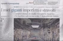 Libero features Ricardo Cinalli's artwork on 23 March 2013