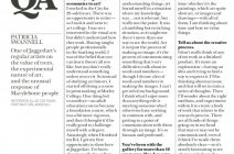 Patricia Swannell - In Marylebone Journal